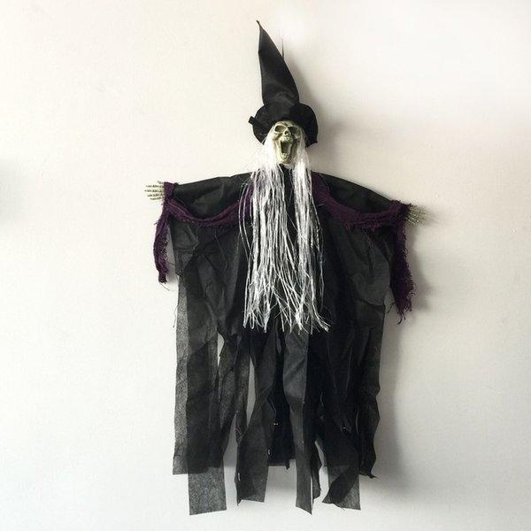 Halloween Deko Hexe Geist Aufhanger Aufhangen Gruselig Dekoration Requisiten Andys Dekokiste